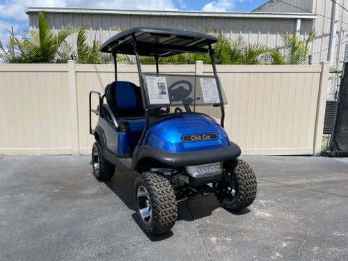 Viper Blue Club Car Precedent Custom Golf Cart