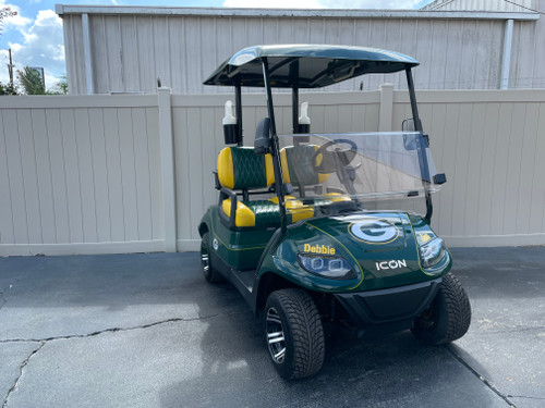 Green Bay Packers ICON i20 Custom Golf Cart