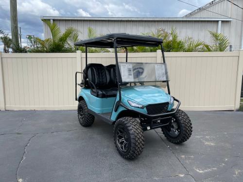 Sea Foam Storm Body EZGO TXT Custom Golf Cart