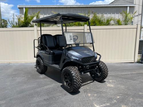 Gun Metal Metallic Storm Body EZGO TXT Custom Golf Cart