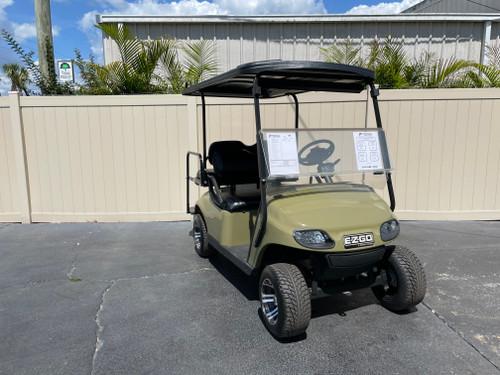 Custom Commando Green EZGO TXT Custom Golf Cart