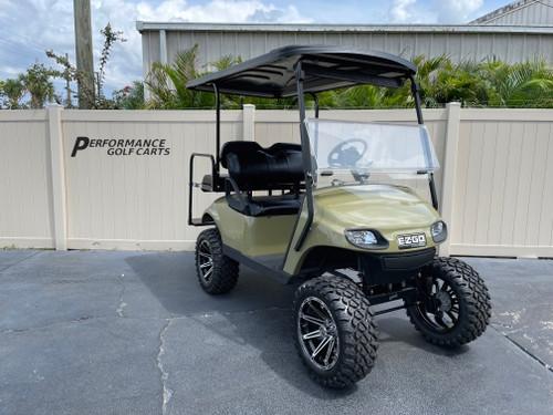 Custom Commando Green Gas EZGO TXT Custom Golf Cart