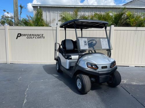 Club Car Tempo 4 Passenger Silver Golf Cart-#2472