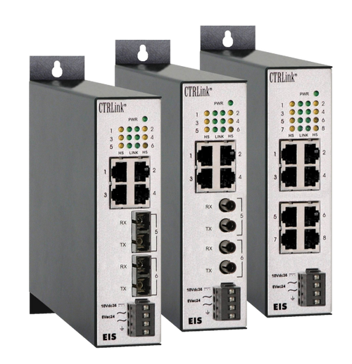 UL864 Ethernet Interconnect Unmanaged Switch Series