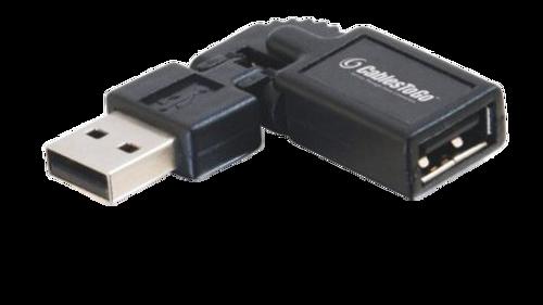 USB Right Angle Swivel Adapter
