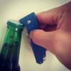 Beer Friends Gifts Drinker Bottle Opener Tools Cocktail Bar Party Blue Pocket Knife for Men Women