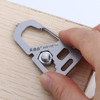 Sanrenmu SK014D SK025Z Multi EDC Tool Keychain Bottle Can Opener Wrench Carabiner Outdoor Tools w Keyring