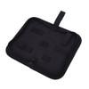 Exduct EP03 EDC Tools Bag Black Nylon Pouch Knives & Tools Holder w Zipper Strip