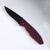 RED Tekut Fire Snake Linerlock Knife LK4120