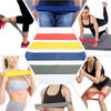 womens stretch belts pull ropes at yoga poses