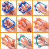 Yoga Finger Band Fitness Equipments Resistance Bands hand Stretcher Exerciser Grip Strength Wrist Exercise Finger Trainer