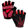 red color mountain bike gloves