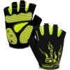 mtb green finger bike gloves