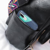 women backpack with cell phone pocket