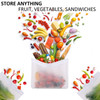 stay fresh longer fruits vegetables cheese Bags