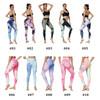 Tie Dye Leggings Yoga Bubble Pants for Women