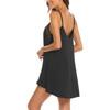 Womens Nightwear Lace Chemise Sleeveless Camisole Slip Dress