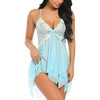 Womens Lace Babydoll Sleepwear Boudoir Outfits