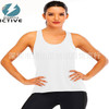Summer Cross Sports Vest Fitness Women Yoga T-shirt