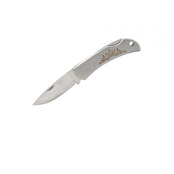 Sanrenmu SRM 481 Mini Pocket EDC Folding Knife Lightweight Lock Back Knives w/ Lanyard Hole