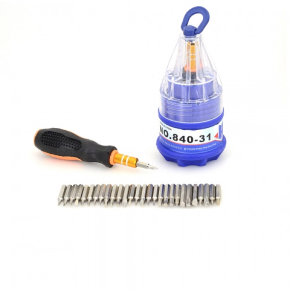 Exduct 31 in 1 Screwdriver Manual Tools Set for Knife Repairing or Home Maintenance