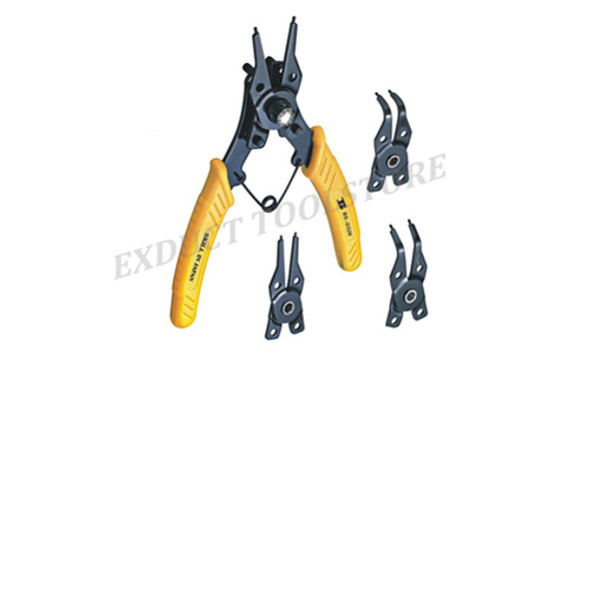 Bosi D326 Professional Snap Ring Pliers Multi-Purpose Circlip Pliers Set Mainly Used for Machinery