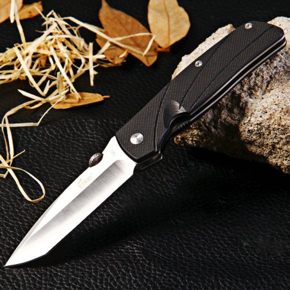 Enlan Bee L01 G10 Handle Liner Lock Folding Knife Stainless Steel Foldable Wilderness Survival Pocket Knife