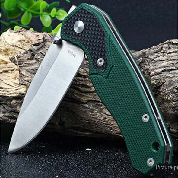 Enlan M023 Folding Knife 8Cr13Mov Blade G10 Handle Knives With Hanging Clip Camping Survival Bushcraft Top EDC Knives
