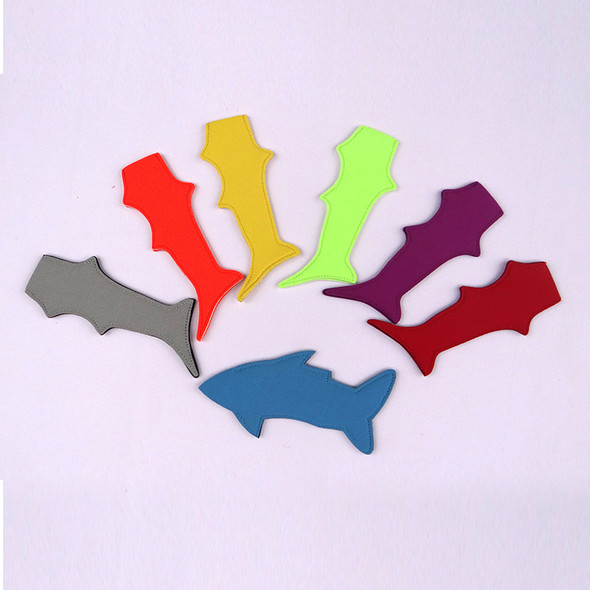 Ice Cream Sleeve For Environmental Shark Shape Pure Color Popsicle Holder Neoprene Pop Holders Tools