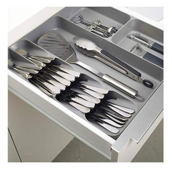 Drawer Organizer Tray Spoon Cutlery Separation Storage Box Cutlery Organizer Kitchen Accessories Organizer - Box Only