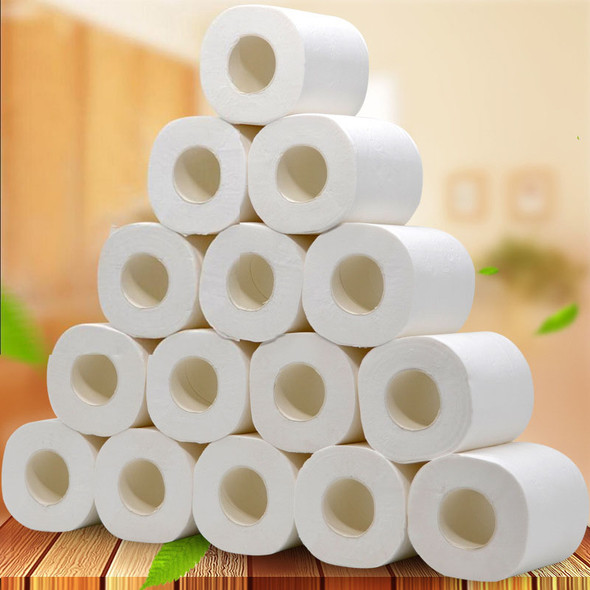 Wholesale Toilet Roll Paper Layers Home Bath Toilet Roll Paper Primary Wood Pulp Toilet Paper Tissue Roll