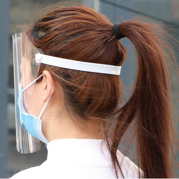 Transparent Anti Droplet Dust-proof Protect Full Face Covering Mask Safety Protection Visor Shield Stop The Flying Spit