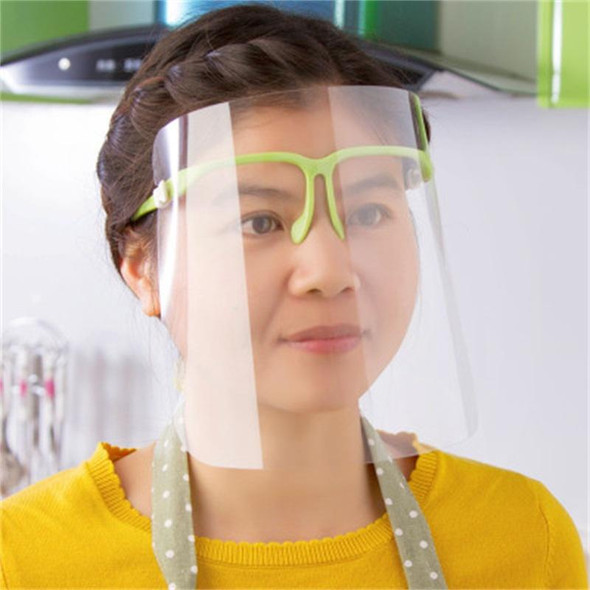 Clear Face Shield with Frame