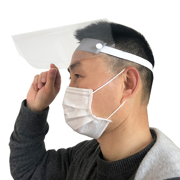 Protective Mask Adult Child Dustproof Cover Face Shield Transparent Full Face Masks Anti Dust Respirator