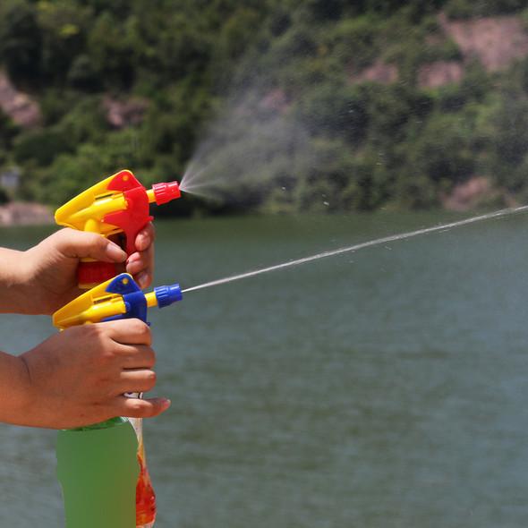 25cm Ferramentas Water Pesticide Spraying Sprayer Home garden tools Plastic Bottle Connecting Red Gun Head Garden Supplies