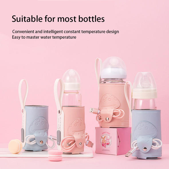 Nursing Bottle Insulation Cover Universal Heating Sleeve USB Charging Constant Temperature PPSU Milk Bottle Feeder Heater