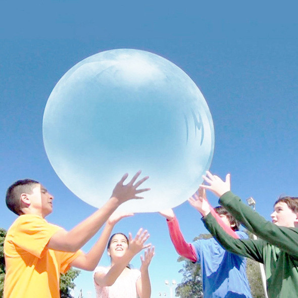 Wubble Bubble Ball Amazing Super Bubble Ball Water Filled Waterballoon Balloons Funny Inflatable TPR Garden Outdoor Toy For Kids Children