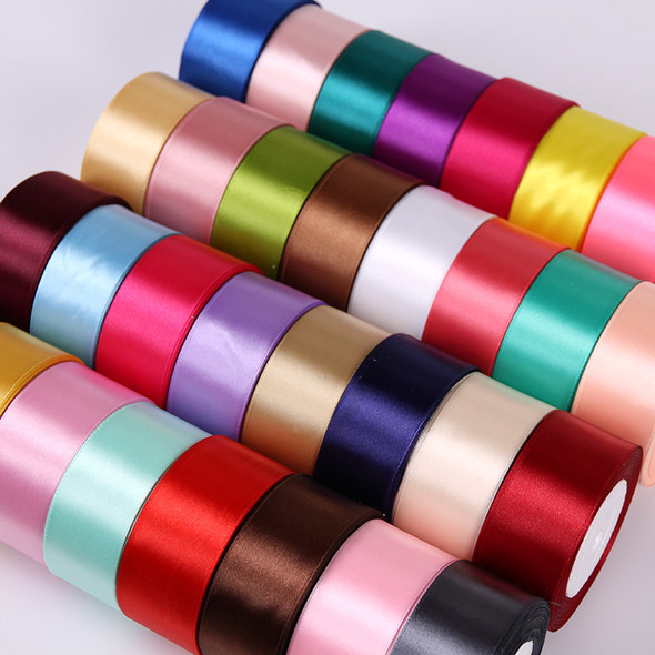 Satin Ribbons DIY Artificial Silk Roses Crafts Supplies Sewing Accessories Scrapbooking Material
