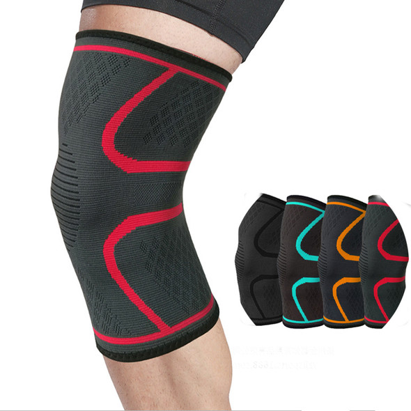 Nylon Elastic Sports Knee Pads Breathable Knee Support Brace Running Fitness Hiking Cycling Knee Protector Joelheiras