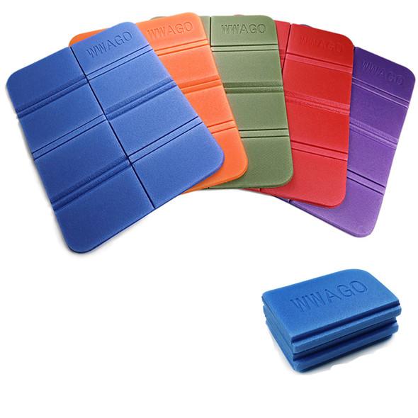 Soft Waterproof Dual Camping Hiking Picnic Portable Cushion Seat Pad Outdoor Folding Camping Moistureproof Cushion Mattress Pad