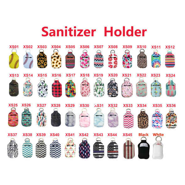 hand sanitizer holsters multi-color bulk wholesale