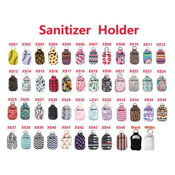 hand sanitizer holsters multi-color bulk wholesale