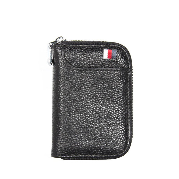 Credit card package Korean version card bag Card sleeve Top layer leather Key case