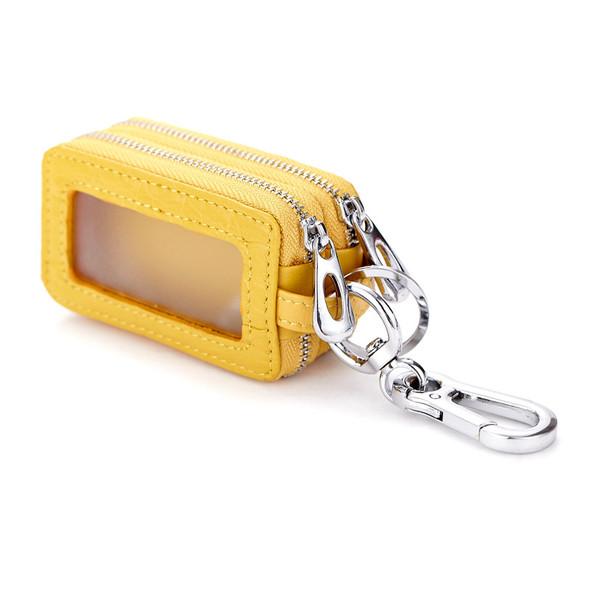 Crocodile pattern key pack Car keypack Double zipper The multifunctional bag Universal bag for men and women Waist padlock key pack