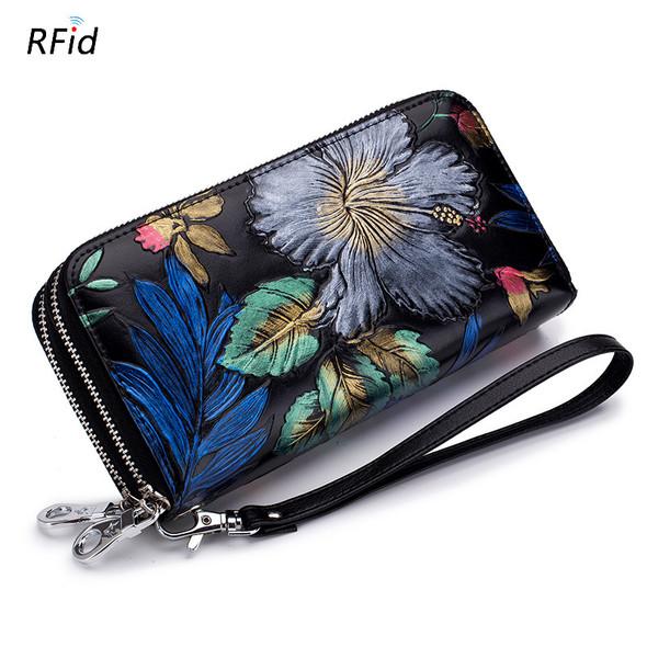 Bulk Wallet Leather Zipper Wallet General Purse for Men and Women Mini lady bag Coin bag Leather Wallet