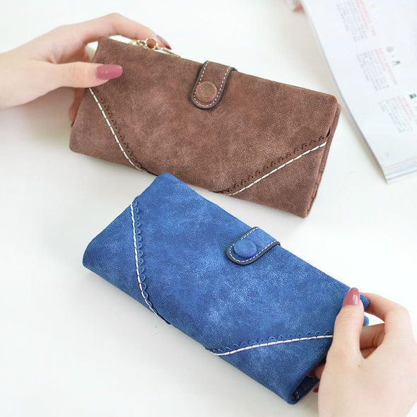 Women's Wallet Multi-color Long PU Leather Clutch Bag Large Capacity Hand Holding Purse Mobile Phone Purse Bag for Gift Party