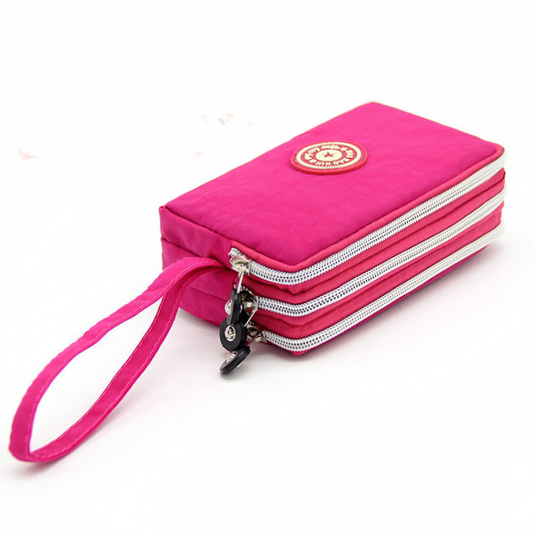Women's Wallet Nylon Cloth Large Capacity Clutch Handbag Hand Holding Purse Coin Mobile Phone Purse Bag