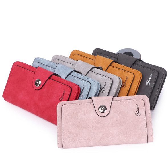 Multi-function Women's Wallet Credit Card/Mobile Phone Holder Large Capacity Handbag Ladies PU Leather Long Purse for Gift Party