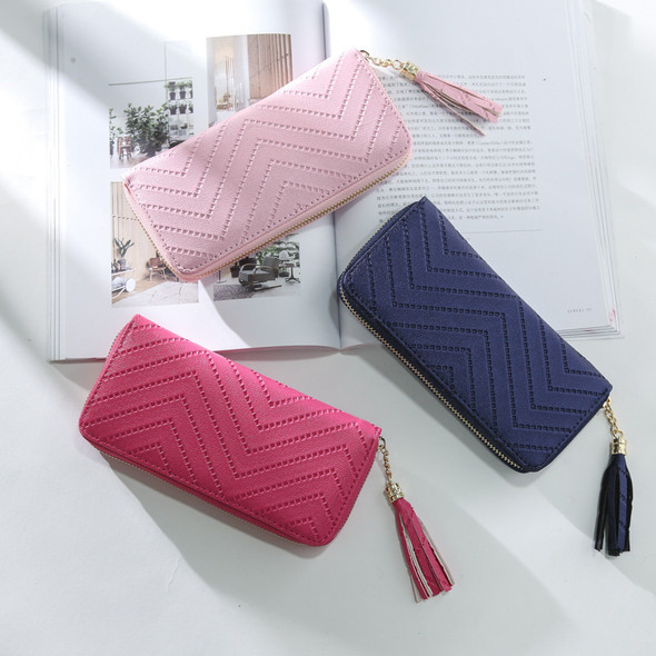 Multi-color Women's Wallet Credit Card/Mobile Phone Holder Handbag Ladies PU Leather Long Clutch Purse