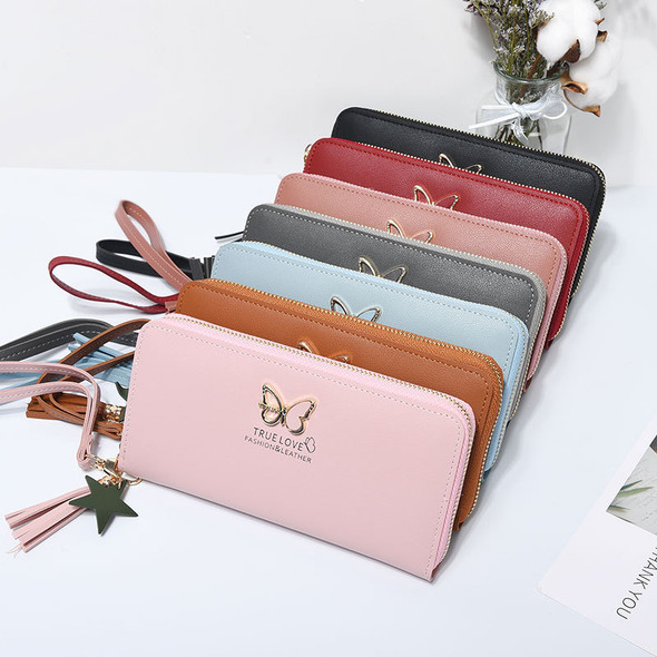 Women's Purse Card Cash Mobile Phone Leather Handbag Large Capacity Ladies Clutch Coin Wallet